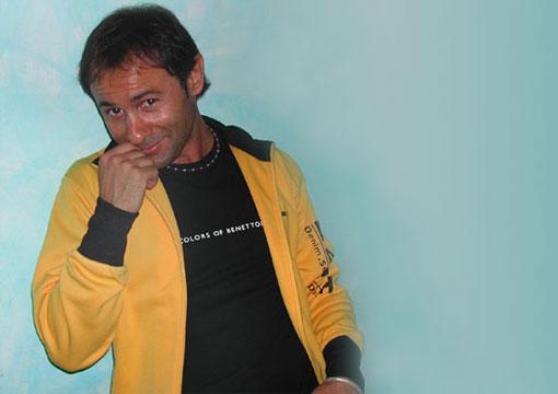 Il cabarettista Luciano Lembo